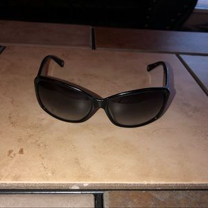 Coach | Women's Black Logo Sunglasses